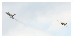 Thunder Over Michigan 2013 (Michael Lavander) Tags: history museum canon airplane fly war unitedstates michigan military wwii flight jet historic airforce koreanwar p51 henryford jackroush airplanephotos willowrunairport jetphotos michiganhistory yankeeairforcemuseum vanburenmichigan airforcephotos michaellavanderphotography thunderovermichiganpics b24bomberplant detroitareahistory photosfromthunderovermichigan thunderovermichigan2013 thunderovermichigan2013photos