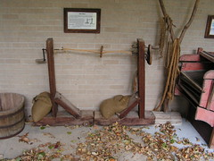 Rope Maker (JeromeG111) Tags: ropemaker 2009 homesteadnationalmonumentofamerica beatrice nebraska minolta konicaminolta konicaminoltadimagez10 historicfarmequipment