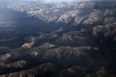 Rockies by air 1 (alamme) Tags: mountains desert flight fromabove windowseat westernus