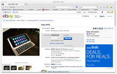 eBay - Nokia N950 part one (renaissancechambara) Tags: nokia ebay meego n950