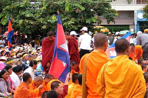 CNRP rally Phnom Penh