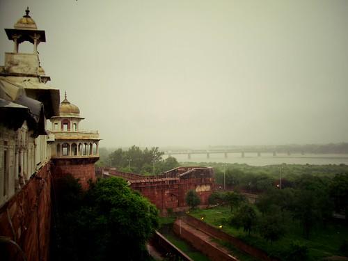 Fort d'Agra, Inde