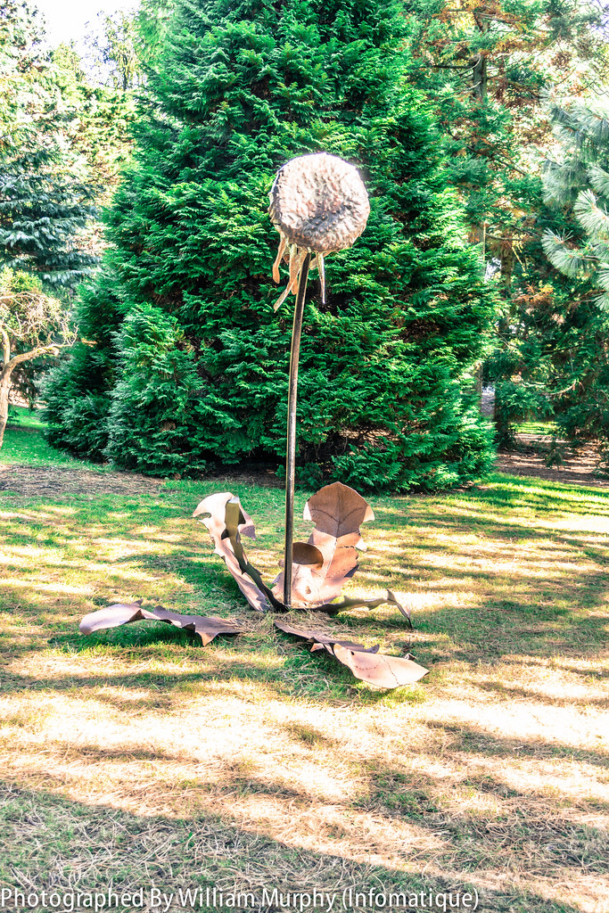Sculpture In Context 2013 In The Botanic Gardens - Time By Patricia Karellas [Part 2]