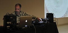 (michel banabila) Tags: music usa set museum smithsonian washington mix live laptop stage mixer projection ambient crops electronica electronic hirshhorn auditorium av impro kaoss banabila gercoderuijter