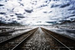 Road to... (jev) Tags: road trip railroad blue white landscape route66 spectrum transport wide surreal rail railway roadtrip super american transportation infrared americana infra digitalinfrared landtransportation middleamerica avenon leicam8 midewest 06000000 06006000 06006005 leicaimages wwwartqcom