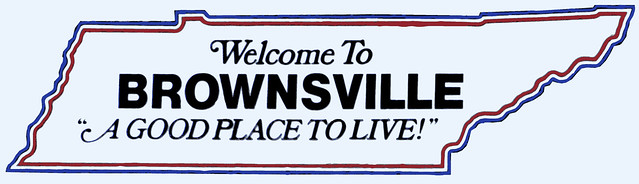 Things for sale: T-Shirt #9: Brownsville, TN