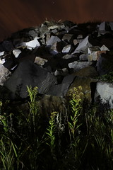quarry ({ tcb }) Tags: lightpainting nature rock stone granite flashlight quarry tcb lapp twincitiesbrightest surfacelightpainting
