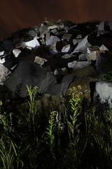 quarry ({ tcb }) Tags: lightpainting nature rock stone granite flashlight quarry tcb lapp twincitiesbrightest surfacelightpainting