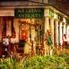 ...antique shop... (xandram) Tags: flowers halloween photoshop store textures vt