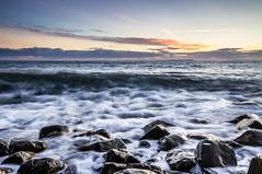 No place like home (Phil_J_123) Tags: uk longexposure sunset sea rocks waves dorset coastline kimmeridge
