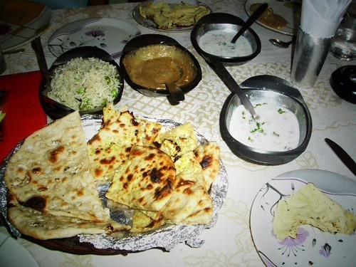 Diner, Varanasi, Inde