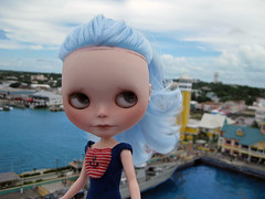 Blythe a day October- ocean blue