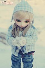 spielen im Schnee (Frozen-Zaara) Tags: bjd dollfie tiki