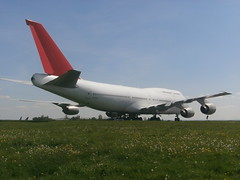 N176SG Boeing 747 (Aircaft @ Gloucestershire Airport By James) Tags: james airport boeing 747 lloyds kemble egbp n176sg