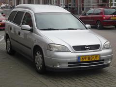 2002 Opel Astra Van (harry_nl) Tags: netherlands utrecht g nederland van astra opel opelastra 2015 ocar astrag astravan opelastrag grijskenteken sidecode6 opelastravan 69bbjt