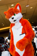 VF 2015 Day 3 Card 5 010sfx (Univaded Fox) Tags: canada hotel furry columbia parade fox convention burnaby british executive fursuit 2015 corran fursuits vancoufur univaded