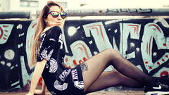 WON DI (Deoxan) Tags: mermaid photo photography photoshoot urban urbanstyle hiphop canon canon70d canonimages argentina girl blondie beauty beautiful beau spring flickr sunglasses sun