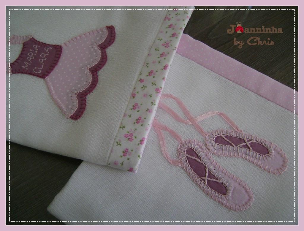d4e244659 Bailarina (Joanninha by Chris) Tags  handmade feitoamão bordado baby bebê  bailarina artesanato aplicaçãodetecidos