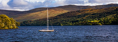 The Poseidon (A.I.D.A.N.) Tags: lochtay loch tay scotland highlands scottish scots perthkinross water waterside boat sailingboat poseidon trees hills lake expanse greens blues clouds cloudy mast rigging canon canon5dmarkii canon5dmkii canoneos5dmarkii eos mkii markii colour colours choppy