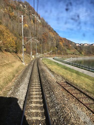 Unterwegs zwischen Chur und Disentis