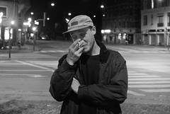 B&W (Arnar Steinthorsson) Tags: bw blackandwhite bn arnar steinthorsson street smallsensor streetpassionaward streetphotography urban photography portrait people persons skaters grain