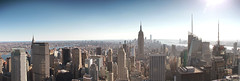 Downtown (andywilson1963) Tags: newyork empirestate architecture america panorama city