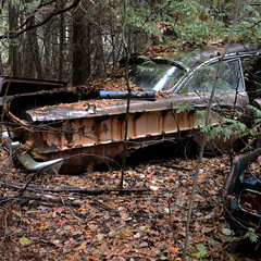 DSC_0240 v2 (collations) Tags: ontario mcleansautowreckers autowreckers wreckers automobiles autos abandoned rockwood derelict junkyards autograveyards carcemeteries
