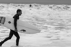 Board (thomasmartin12) Tags: surf planche black white noir et blanc la rochelle france larochelle mer ocean