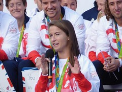 Maddie Hinch (Suede Bicycle) Tags: olympics rio rioolympics rio2016 olympicgames heroeswelcome trafalgarsquare summerolympics olympicparade paralympics rioparalympics