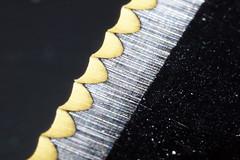 On A Knife Edge (steve_whitmarsh) Tags: knife edge metal closeup macro macromondays