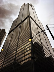 Willis Tower, Chicago (Perfectly Placed Pixels) Tags: america city reflection windows sky willis sears tower skyscraper architecture chicago