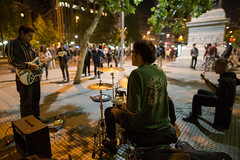 CALLEJEROS (leobenavente) Tags: street music musica callejera calle ciudad urbano santiago newyork centralpark musicacallejera artistacallejro streetmusic streetworkers