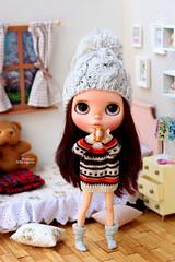 Norah (Passion for Blythe) Tags: blythe bohemian peace morning coffee bedroom takara