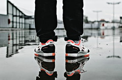 "Asics Gel Lyte III ""Orange Blaze"" (b_represent) Tags: asics asicsgellyteiii asicsgellyte3 gellyteiii gellyte3 orangeblaze reflection sneaker sneakers"