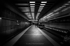 Harvard Tube Station (J. Pelz) Tags: blacknwhite blackwhite usa streetphoto harvard boston
