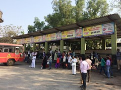 PANVEL ST Bus Stand (Depot) Platform No. 1-6 (other series) MSRTC (YOGESH CHOUGHULE) Tags: panvel st bus stand depot platform no 16 other series msrtc panvelstbusstanddepotplatformno16otherseriesmsrtc