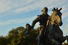 Hats off (radargeek) Tags: waco tx texas downtown statue horse sombrero