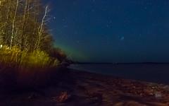 Low Light River Views (skylarhodder) Tags: low light long exposure 30sec dees landing coast labrador stars