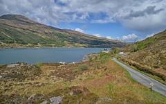The road to the Narrow's.. (Harleynik Rides Again.) Tags: kylerheanarrows kylerhea glenelg glenachulish ferry highlands westcoast westernisles scotland nikondf harleynikridesagain