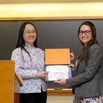 Professor Frances Wang, Rachel Ryskin: Sarah Mangelsdorf Award