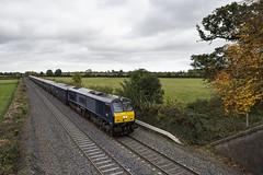 216 on Heuston-Cork Belmond at Kearneystown bridge 18-Oct-16 (metrovick) Tags: irishrail iarnrodeireann ie216 belmond bgh emd emdexportloco jt42hcw kearneystownbridge railroad railway railwaykildare