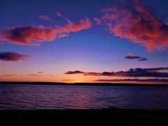 Isle of Arran Sunset (David_F_Blair) Tags: arran isle isleofarran island scotland sunset sun sea river cloud clouds nikon coolpix l840 nikoncoolpix nikoncoolpixl840 landscape lakes lake bird birds sky