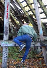 self3111 (Tommy Berlin) Tags: men jeans levis bomberjacke alphajacke butt ass ars