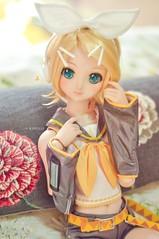 RinRin-chan <3 (Rjdolls) Tags: dollfie dd doll dream dollfiedream bjd vocaloid rin rinkagamine volks kawaii kagaminerin