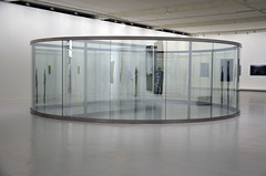 Dan Graham : Rectangle Inside Cylinder (2008) (Marc Wathieu) Tags: dangraham dan graham rectangle inside cylinder passionssecrtes exhibition tripostal lille 2014 art contemporary france