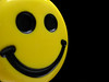 Smiley (EvelyneRenske) Tags: smile smiley yellow black emoticon emoticons