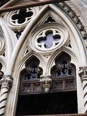 Gothic Window (SixthIllusion) Tags: gothic architecture cemetery milan milano italy