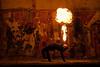 Fire dancer (Hans-Toomas Saarest) Tags: fire dance firedance dancer blow breathe factory red oragne estonia türisalu explosion tuli tuletantsija tuletansijad tantisja tantisjad puhuma punane eesti raketibaas