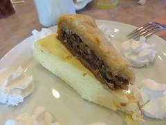img_425-2657 (Mark Eichin) Tags: diner danbury dessert newcolonydiner connecticut cheesecake baklava