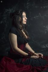 Portrait (Aurelien G. Photographie) Tags: slection gipsy femme fille girl women music antik muse antique portrait studio metz moselle france europe